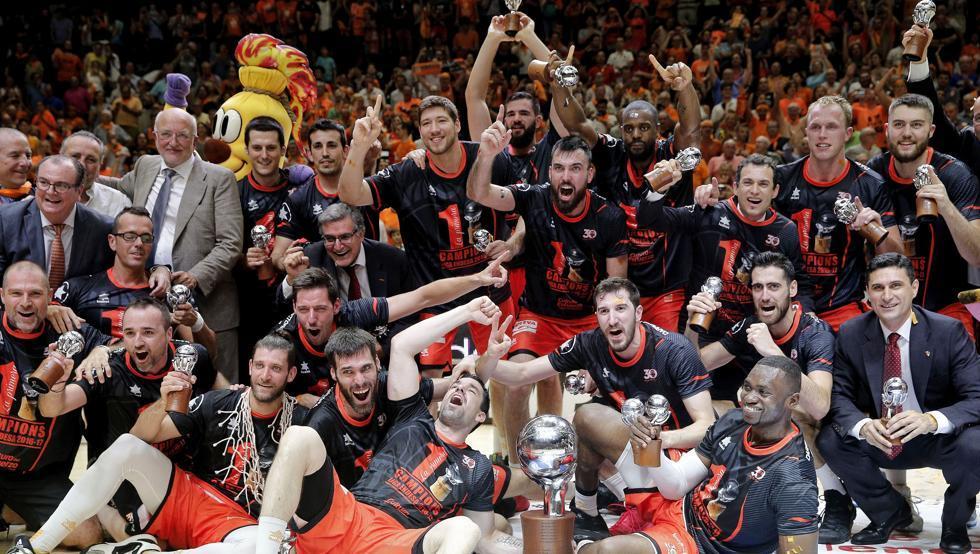 Valencia Basket Campió