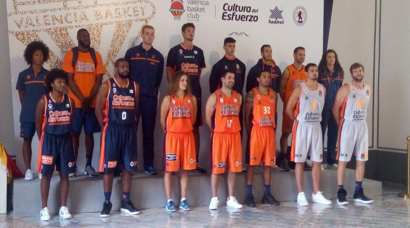 Equipacions valencia basket