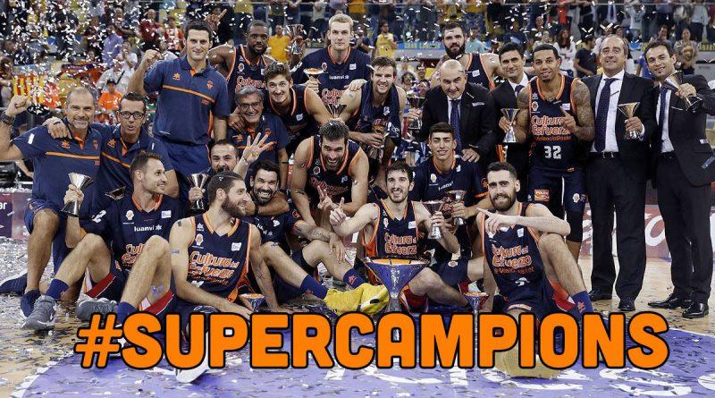 Valencia Basket campeón supercopa