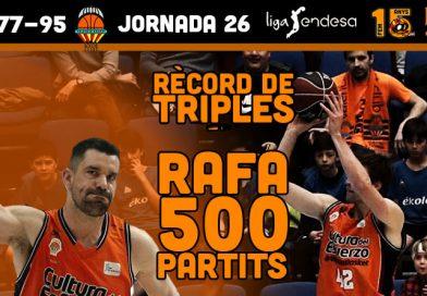 El dia dels 500 partits de Rafa